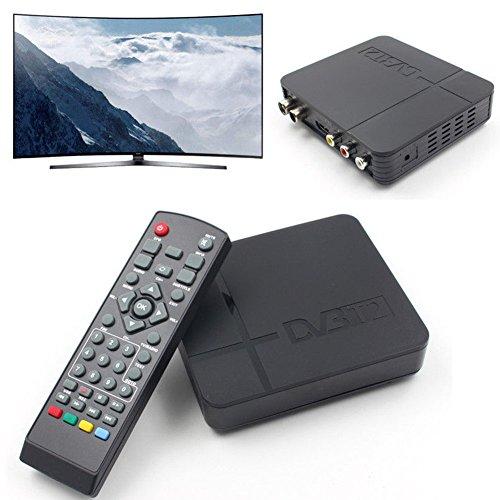 K2 DVB-T / T2 TV Receiver Digital TV Channels Tuner HDMI 3D Digital Video Terrestrial MPEG4 PVR HD 1080P Set-top Box TV Box