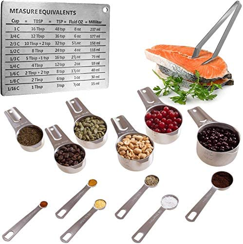 All Clad Stainless Measuring 5 Piece Cookware