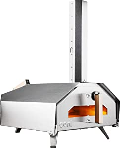 Ooni Pro Outdoor Pizza Oven, Pizza Maker, Wood-Fired Pizza Oven, Gas Oven, Award Winning Pizza Oven