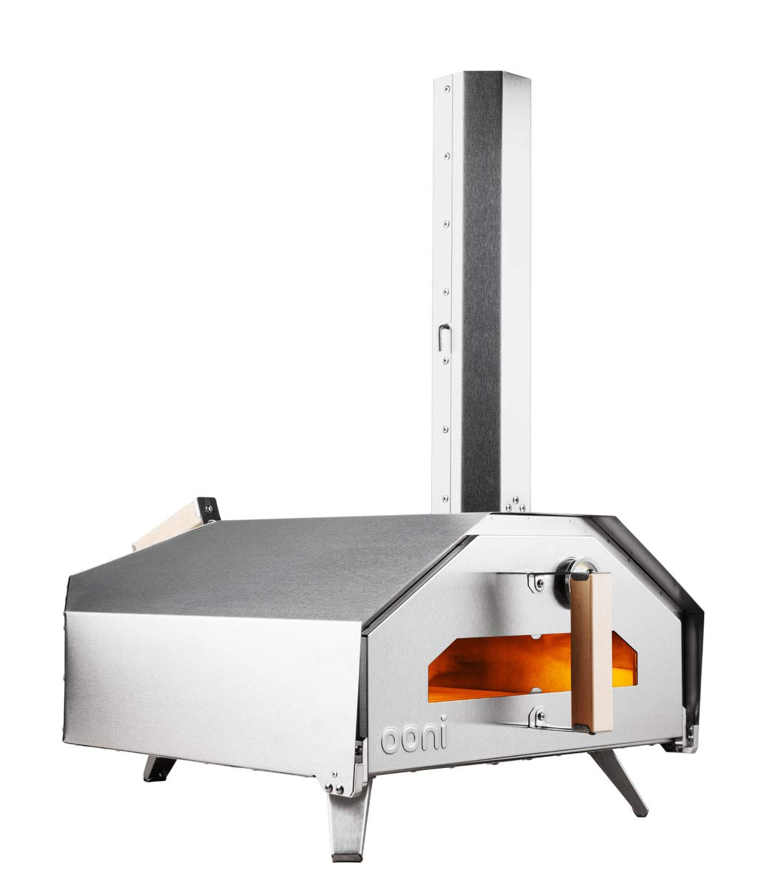 Ooni Pro Portable Outdoor Wood-Fired/Gas Pizza Oven