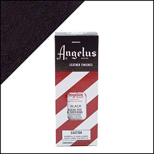 Angelus Suede Dye 3 Oz. Color - Black