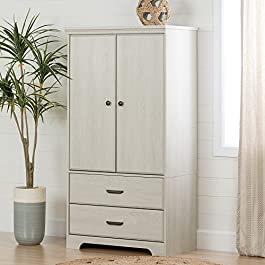 South Shore Versa 2-Door Armoire with Drawers
