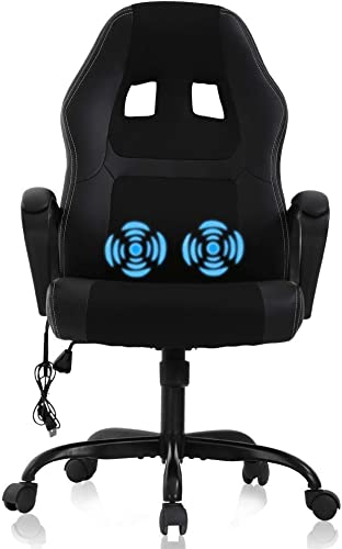 Gaming Chair Computer Chair Office Chair Ergonomic High Back Massage PC Desk Chair