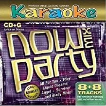 Now Party Mix 8X8 Cd G Karaoke Songs