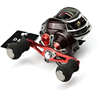 Isafish Baitcaster Reels 11+1 Ball Bearings Left/Right Handed Baitcasting Reels 6.3:1 Gear Low Profile Baitcast Bait Casting Fishing Reels