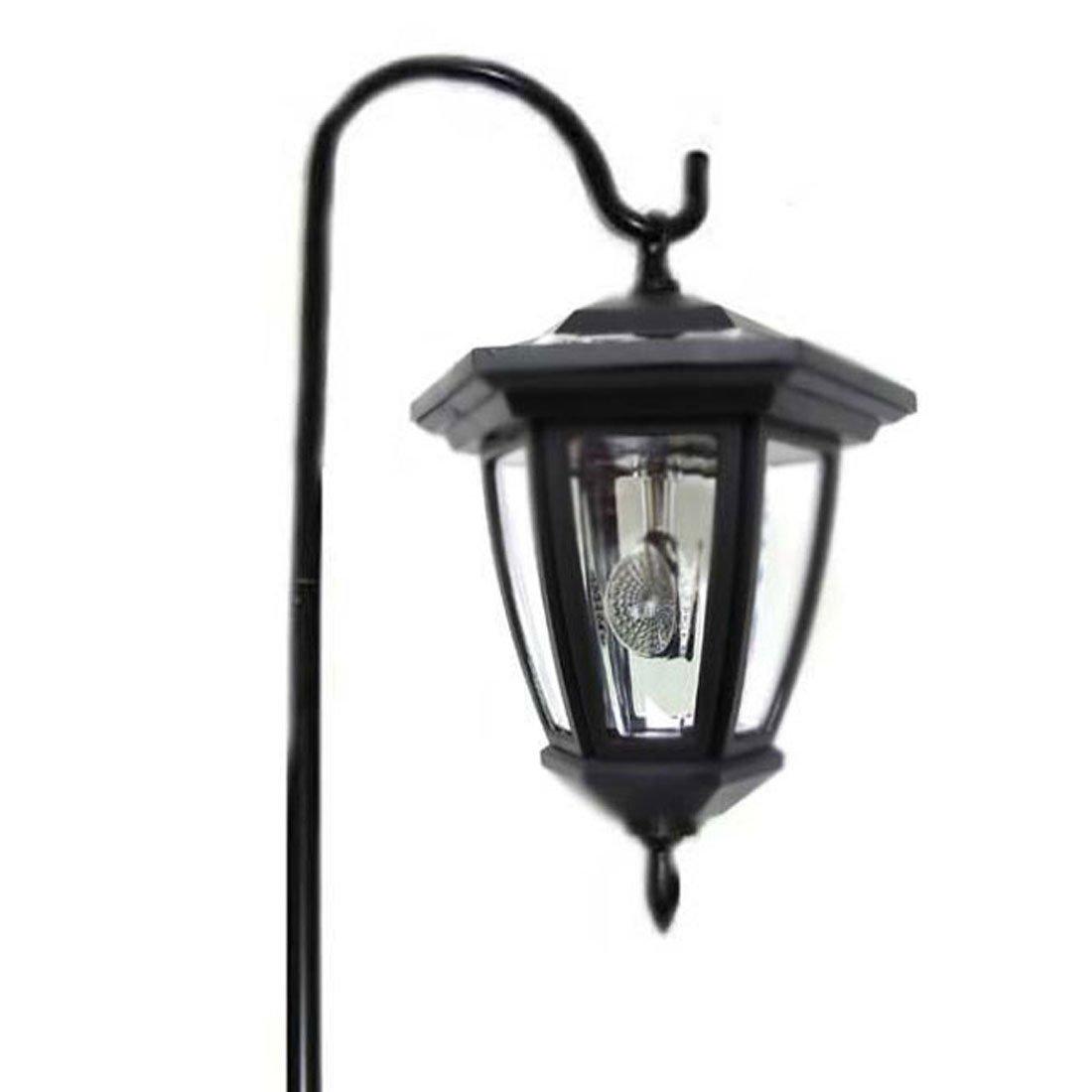 Hongville Shepards Hooks Solar Lantern LED Light (Set of 8)