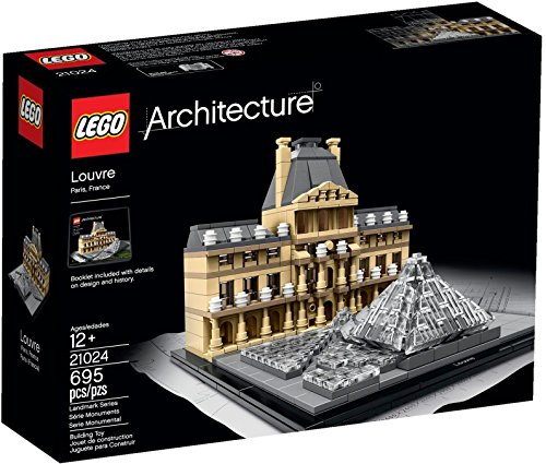 Lego Architecture Louvre 21024 (Discontinued by manufacturer)
