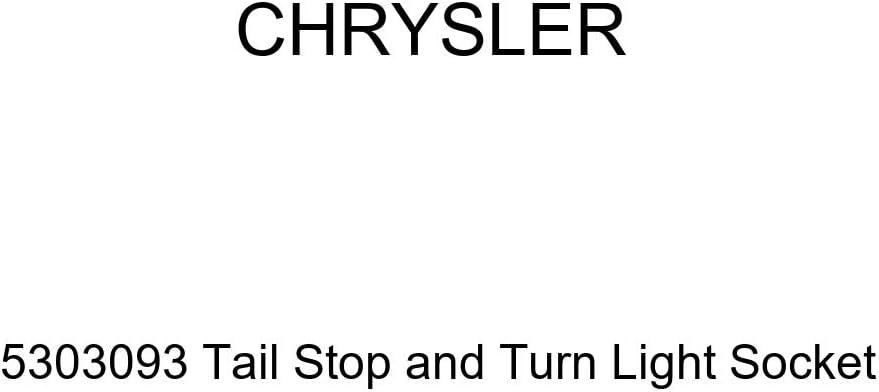 Genuine Chrysler 5303093 Tail Stop and Turn Light Socket