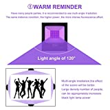 KUKUPPO UV Black Light, 80w UV LED Blacklight