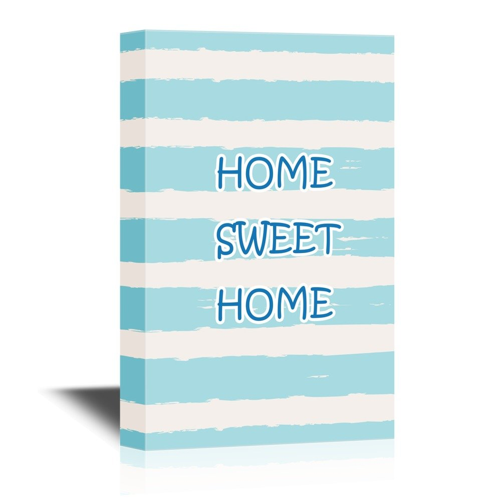 Print Art Home Sweet Home Quotes Wall Decor Quotes Ation Canvas