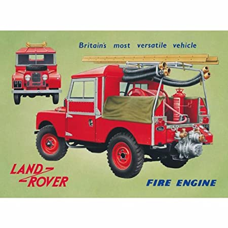 Land rover Models retro vintage metal sign