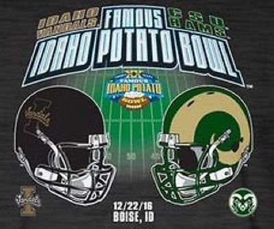 2016 FAMOUS IDAHO POTATO BOWL PROGRAM IDAHO VS. COLORADO STATE