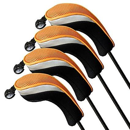 Amazon.com: A99 H104 Jefe de golf híbridos Covers 4pcs/set ...