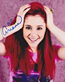 #3: Ariana Grande as Cat Valentine Victorious 8x10 reprint signed photo #1 RP