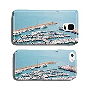 The sea mooring with yachts cell phone cover case Samsung S5