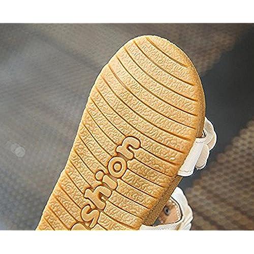 22c7515b3c299 hellomiko Fille Sandales Bébé Chaussures Bébé Sandales Chaussures pour  Tout-Petits Première Marche Chaussures Printemps