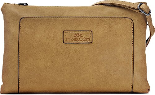 H clutches crossover x colour x x W 22 shoulder bags 33 D ladies BLOOM Camel MIYA handbags 2 cm bags evening x camel bags underarm bags n0RfZqvwp