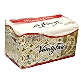 Vanity Fair Dinner Napkins, Pre Folded, 40 CT (4)