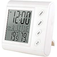 Vosarea Termómetro higrómetro Digital Temperatura Monitor de Humedad
