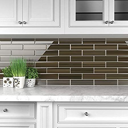 Sample Big Blue Glass Tile Perfect for Kitchen Backsplashes and Showers