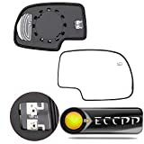 yukon denali accessories 2003 - ECCPP Mirror Glass Power Heated Driver & Passenger Side(A Pair) Replacement fit for Chevy Avalanche Suburban Silverado Tahoe GMC Sierra Hybrid Classic Yukon