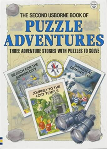 photo relating to Thomas Joseph Printable Crossword known as Minute Usborne E book of Puzzle Adventures: 3 Journey Lib
