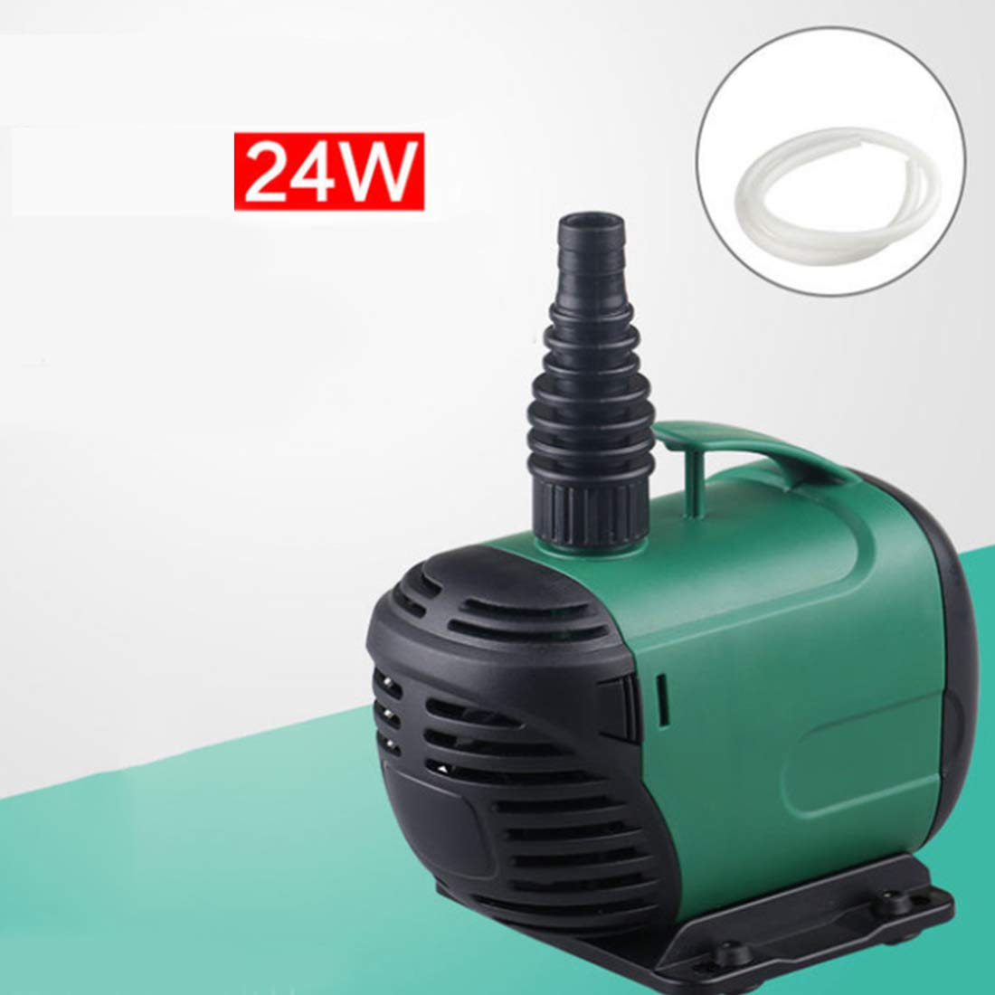 24W WEATLY Submersible Pump 1400L-6800L Hr, Fountain Water Pump for Fish Tank, Hydroponics,Aquarium (Wattage   24W)