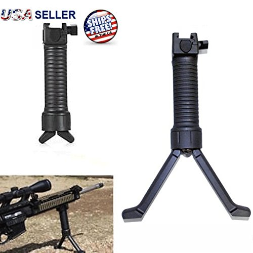 Gps Grip Pod (Tactical Rifle Bipod Hand Fore Grip Vertical Foregrip Picatinny Weaver Rail 20mm, Mega-Shop