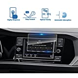2019 Volkswagen Jetta 6.5-Inch Car Navigation Screen Protector, LFOTPP Clear TEMPERED GLASS Infotainment Display In-Dash Center Touch Screen Protector (6.5-Inch)