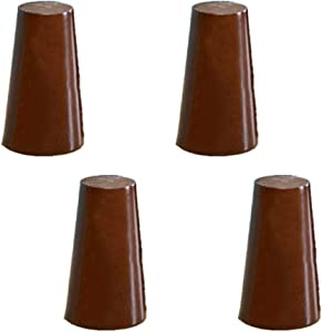 MWPO Wooden Furniture Leg,Modern Couch Legs,TV Desk Legs, Table Legs,Bed Foot,Couch Feet,Kitchen Feet,Cabinet Legs,for Chairs Stools Cabinets Desk Chair Replacement Legs,4Pcs,5cm-50cm
