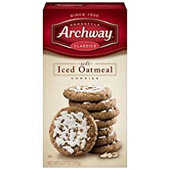 Archway Cookies, Soft Iced Oatmeal, 9.25...