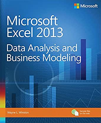 Microsoft Excel  Data Analysis And Business Modeling Data