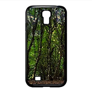 Frost Watercolor style Cover Samsung Galaxy S4 I9500 Case (Forests Watercolor style Cover Samsung Galaxy S4 I9500 Case)