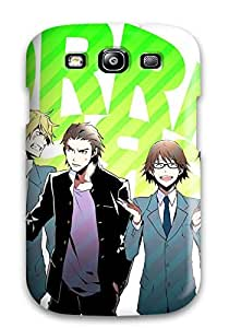 Hot Fashion LFLmkLf1586MovFf Design Case Cover For Galaxy S3 Protective Case (durarara)