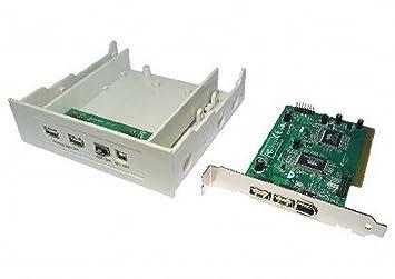 kenable USB 2,0 & Firewire IEEE1394 Combo PCI Tarjeta ...