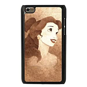 The best gift for Halloween and Christmas iPod 4 Case Black The beautiful Disney Princess Belle GON6221882