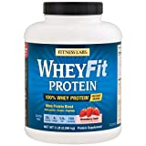 Cheap Fitness Labs WheyFit Protein (5 Pounds, Strawberry Swirl)