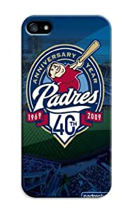 LarryToliver Customizable Baseball San Diego Padres Ultra Thin Snap-on Hard Case for iphone 5/5s