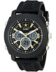 Wrist Armor Mens 37200003 U.S. Army C21 Analog-Digital Display Japanese Quartz Black Watch