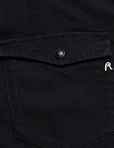Chemise Femme Replay Black Noir 9 F8xqxdna