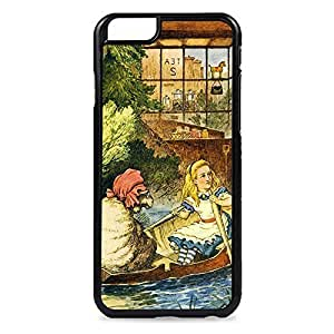 Case Fun Case Fun Alice in Wonderland Sheep in a Boat Snap-on Hard Back Case Cover for Apple iPhone 6 4.7 inch