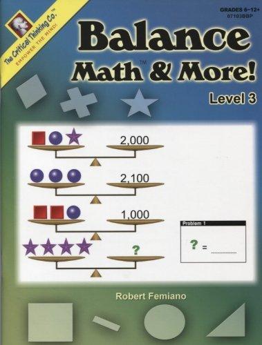 Download Balance Math & More! Level 3 PDF