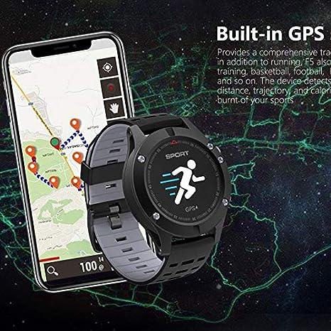 Amazon.com: XuBa F5 GPS Smart Watch impermeable Android iOS ...