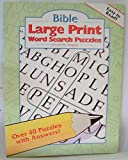 img - for Bible Large Print Word Search Puzzles book / textbook / text book