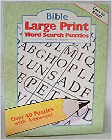 It's just a graphic of Clever Large Print Bible Word Search Puzzles Printable