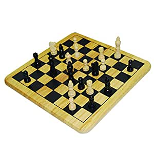 chess set amazon wood chess set toys amp 29756