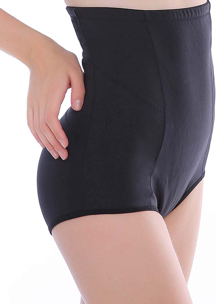 Medium control shaper underwear briefs support wear knickers with lace front