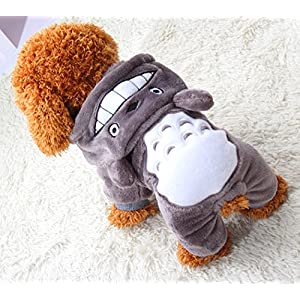 Xiaoyu Puppy Dog Pet Clothes Hoodie Warm Sweater Shirt Puppy Autumn Winter Coat Doggy Fashion Jumpsuit Apparel