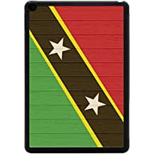 Rikki Knight Saint Kitts And Nevis Flag on Distressed Wood Design iPad Air 2 Smart Case for Apple iPad Air 2 Full Coverage Ultra-thin smart cover (iPad Air ONLY - not for NEW iPad)