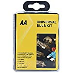 AA Compact Universal Car Bulb/Fuse Kit AA0552 – Includes Popular Halogen Bulbs H1 (448) H4 (472) H7 (499) – Suitable for…